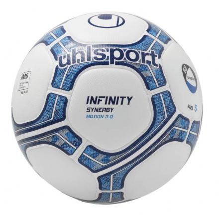 Infinity Synergy Motion 3.0 White / Navy / Royal (Size 5) Match Ball